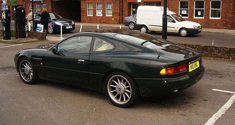 Aston Martin DB7 - Gordan Ramsay