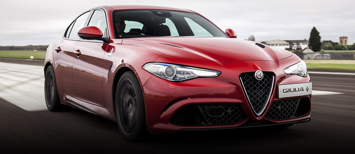 Alfa Romeo Giulia Quadrifoglio manual (feature)