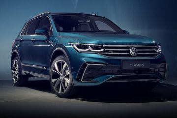New Facelift Tiguan Hybrid and R Model