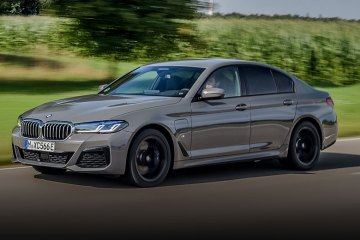 New BMW 545e xDrive