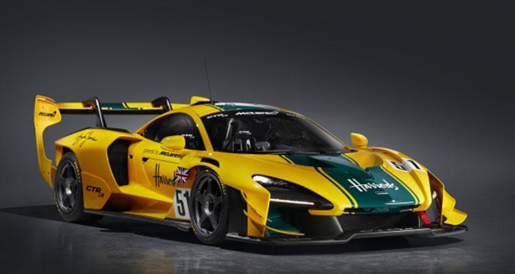 McLaren Senna Le Mans F1 GTRs