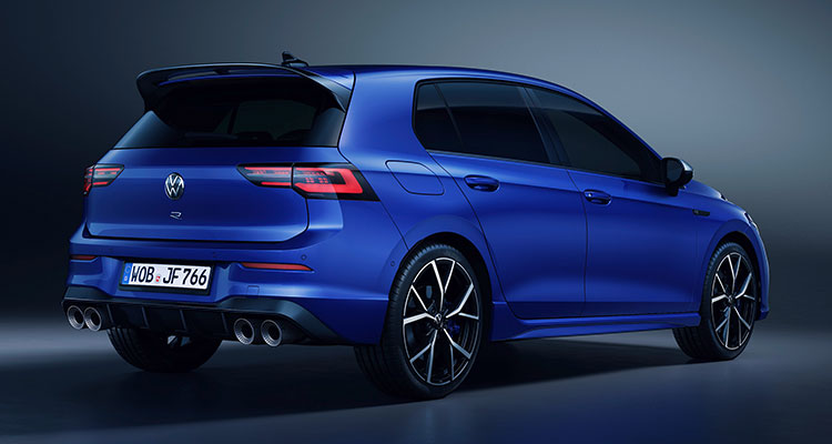 The new Golf R 2020