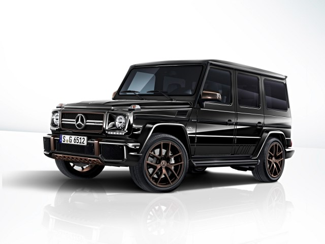Mercedes Clase G Final Edition