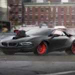 BMW i8 / Dodge Charger