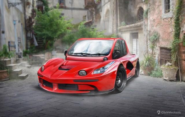 Ferrari LaFerrari / Fiat Multipla