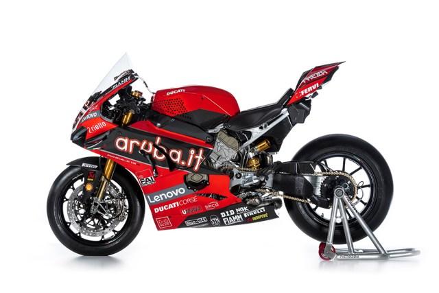 Ducati Panigale V4 R de WorldSBK