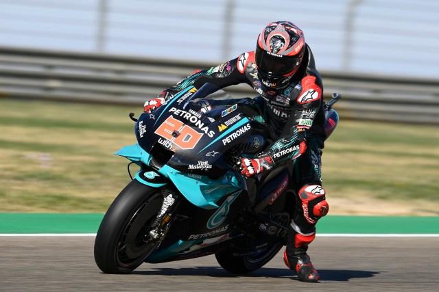Fabio Quartararo consigue la pole en el Gran Premio de Aragón