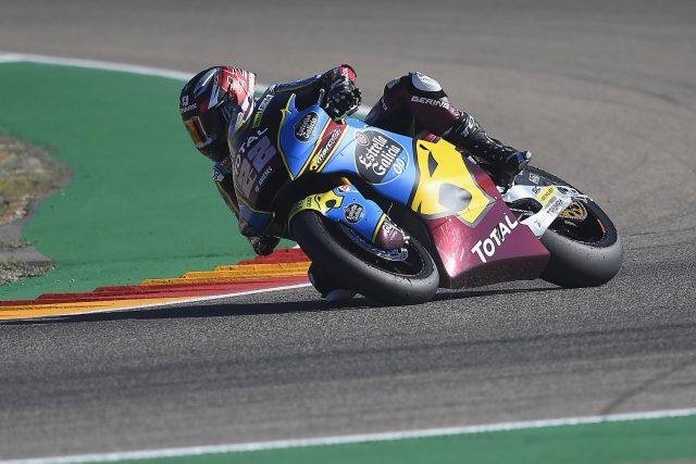Sam Lowes gana destacado la carrera de Moto2 en Teruel