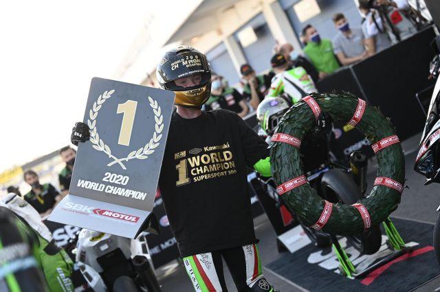 Jeffrey Buis, Campeón del Mundo de Supersport 300 2020