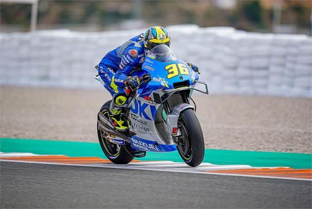 Joan Mir se alza como campeón del mundo de MotoGP en el Gran Premio de Valencia
