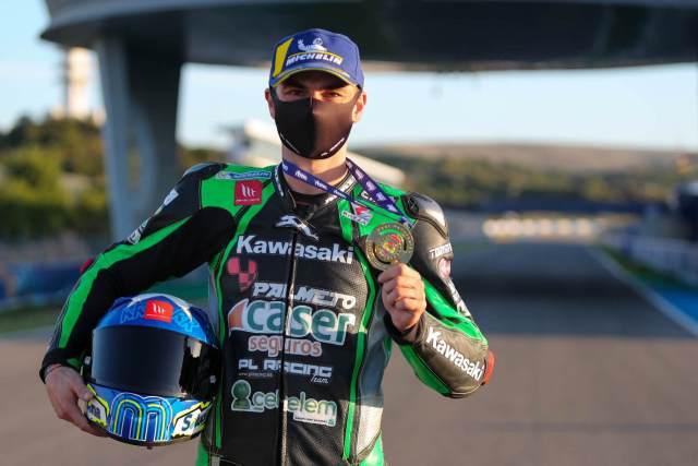 Román Ramos, Campeón de España de Superbike ESBK 2020