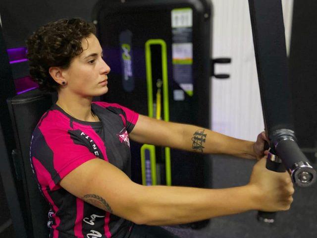 Ana Carrasco training 2021