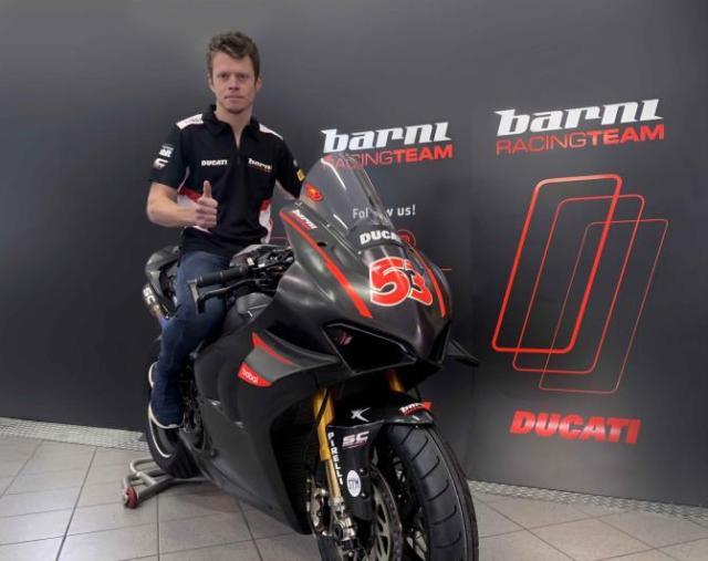 Tito Rabat, piloto del Barni Racing Team en el WorldSBK