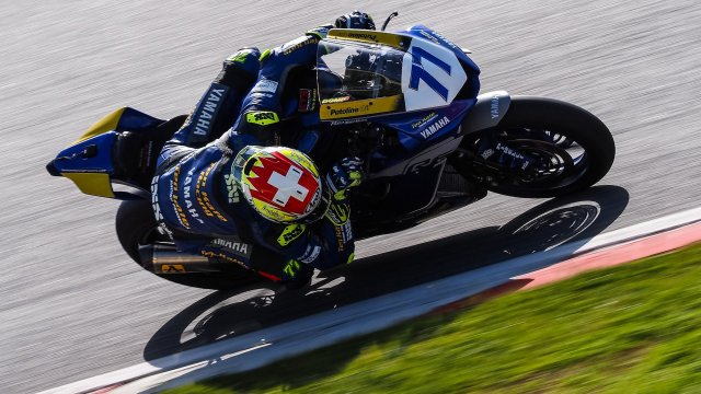 Dominique Aegerter_test_montmelo2021_action_full