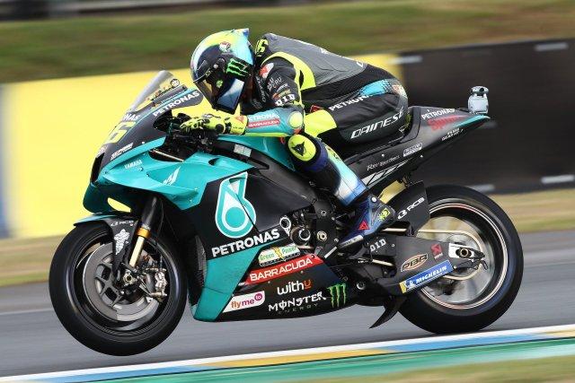 Valentino Rossi 2021 GP Francia