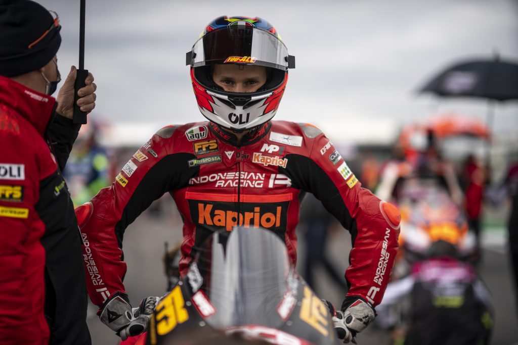 Gabriel Rodrigo 2021 Gran Bretaña moto3