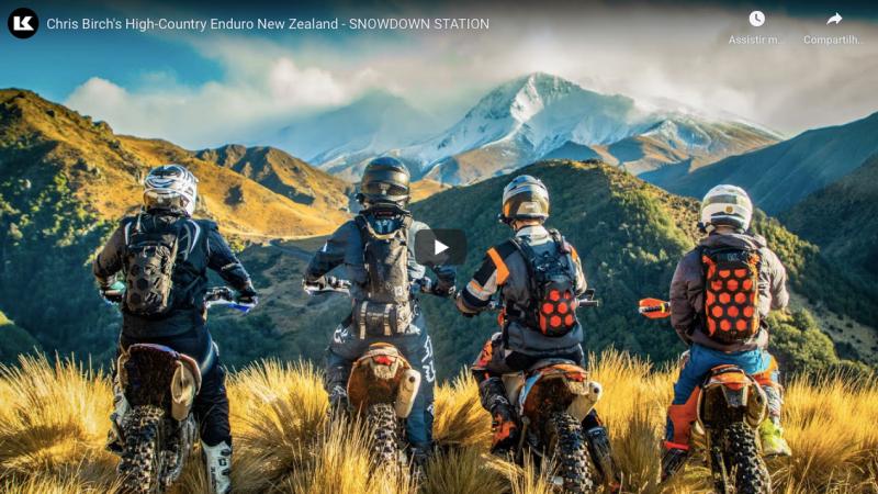 Video, Chris Birch mostrando um pouco do Hard Enduro na Nova Zelândia