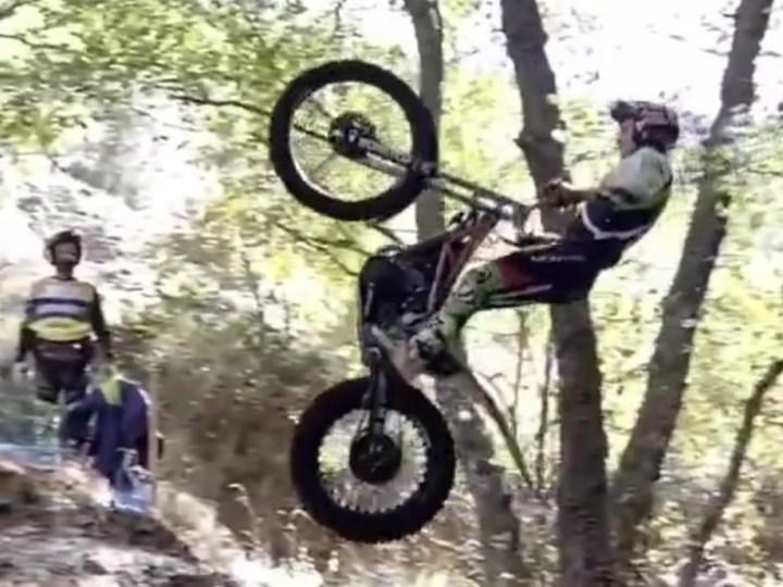 Video, Trial, Mega salto de Jaime Busto em Espanha!