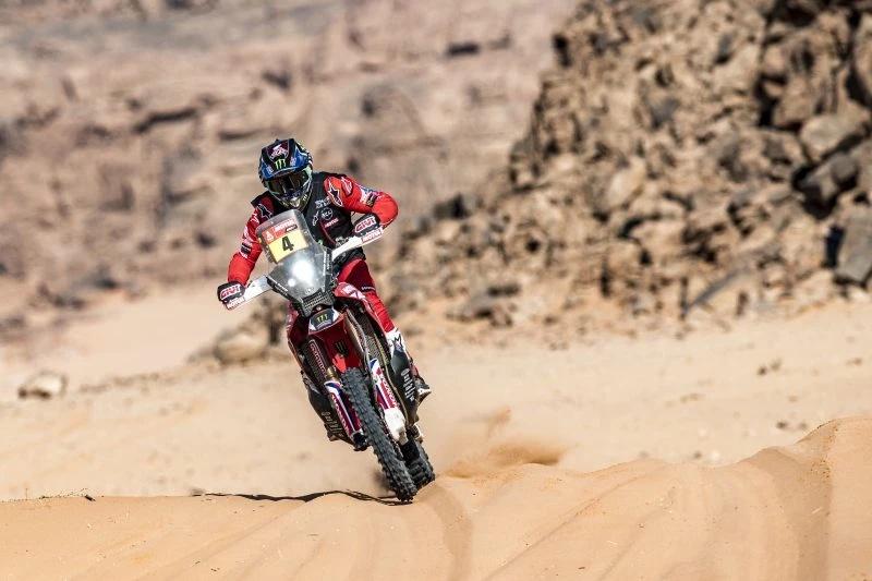 Dakar, Honda na LIDERANÇA