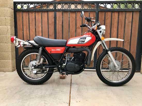 Yamaha DT250 de 1975 de Peter Tremulis