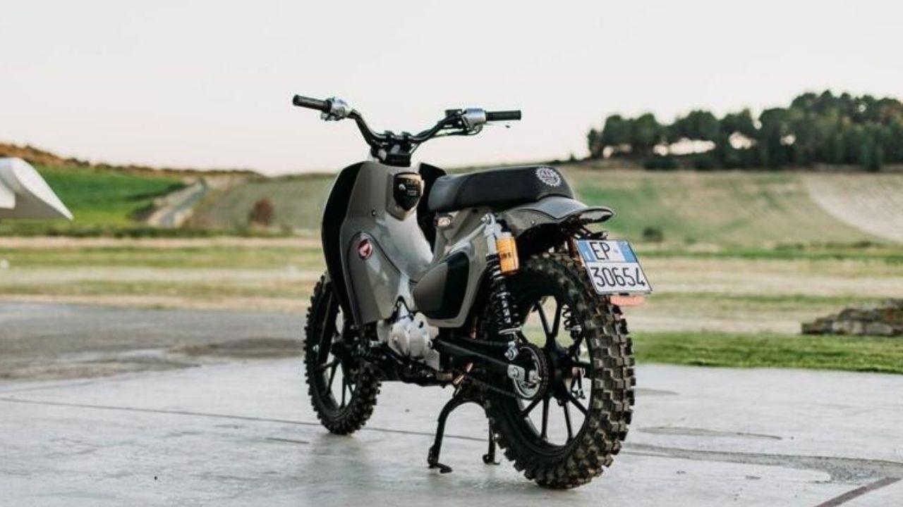 Honda Super Cub 125X Mann: Pronta para o desafio da Sardenha