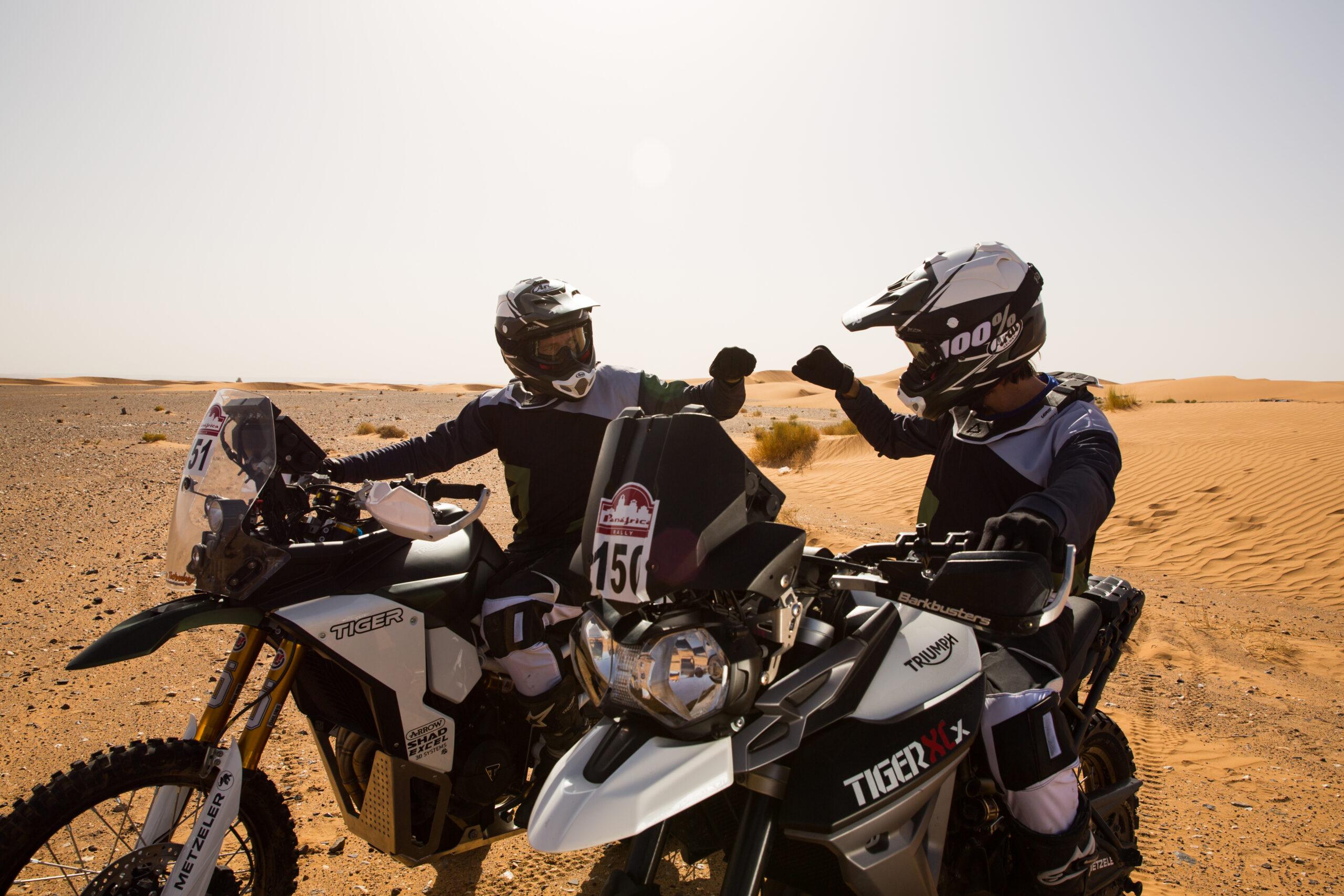 Triumph é o novo patrocinador do Raid 1000 DUNAS