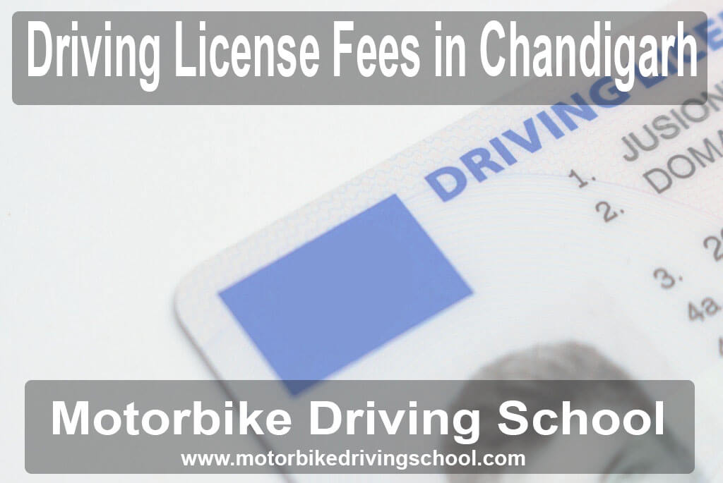 driving license fees
