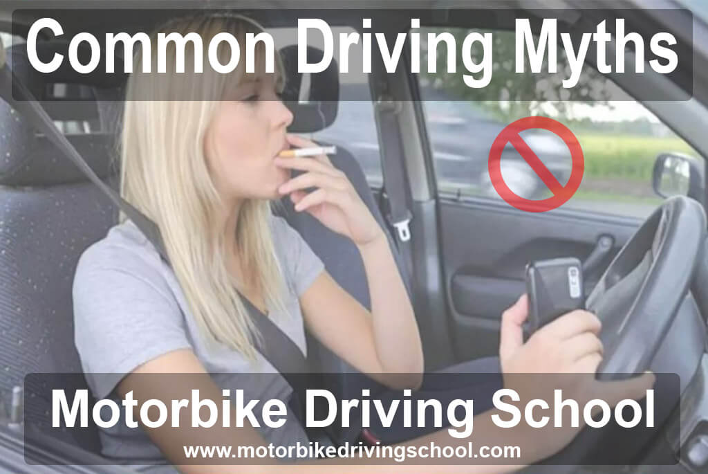 common driving myths
