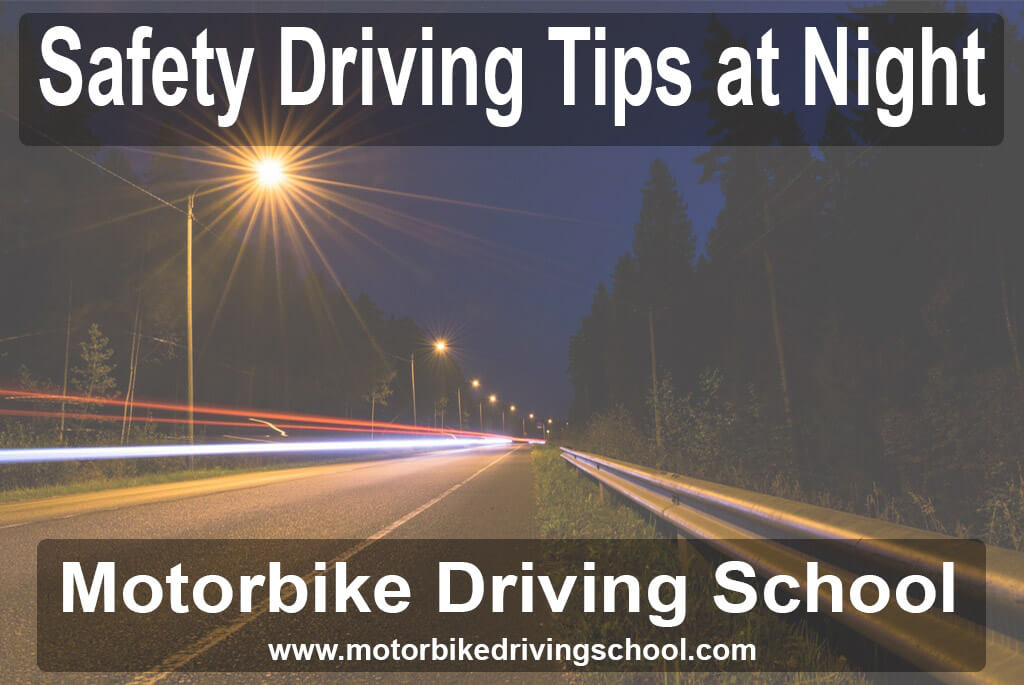 driving tips at night