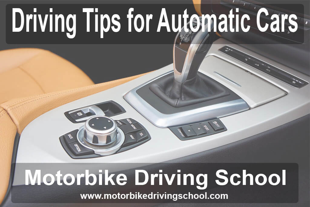 driving tips for automatic cars