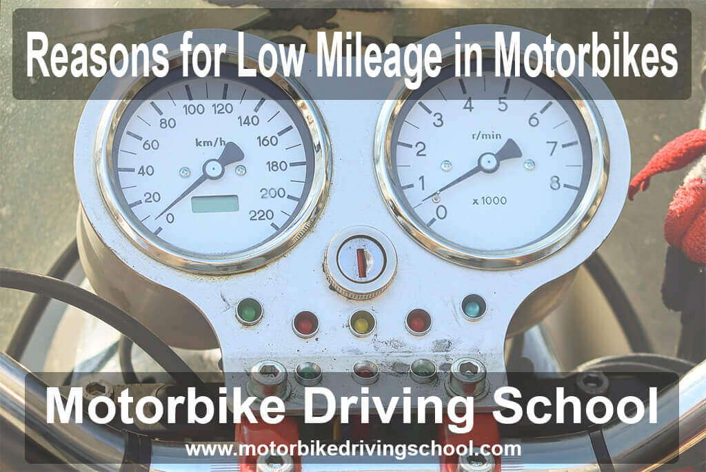 reasons for low mileage in motorbikes