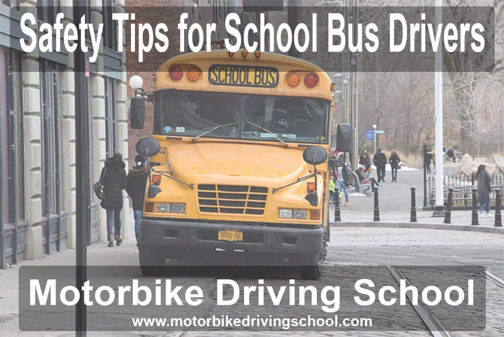 tips for school bus drivers