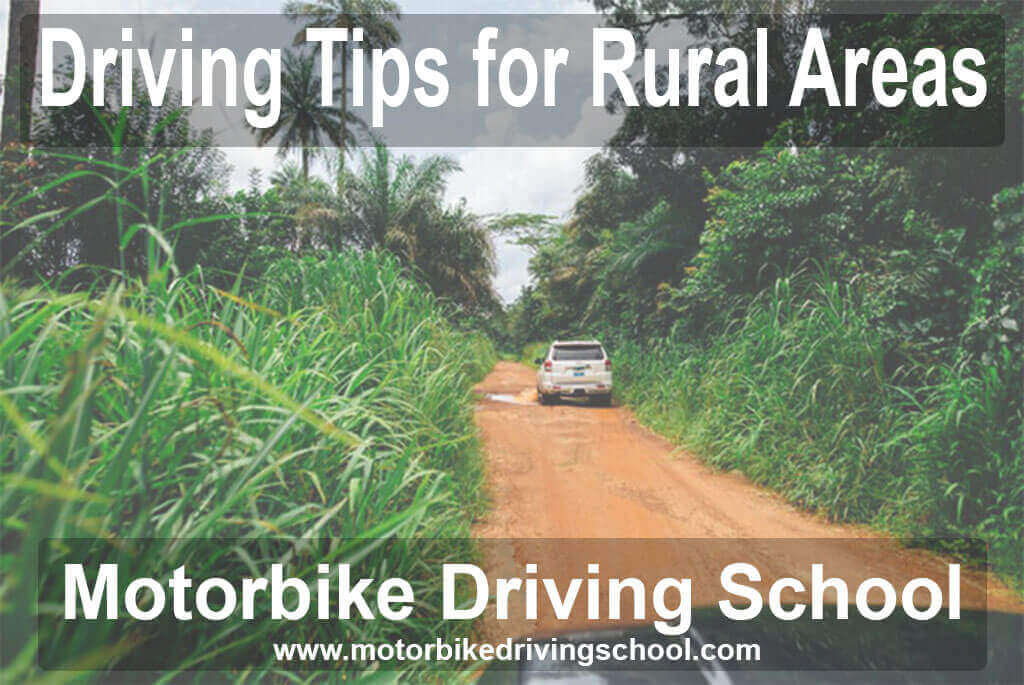 driving tips for rural areas