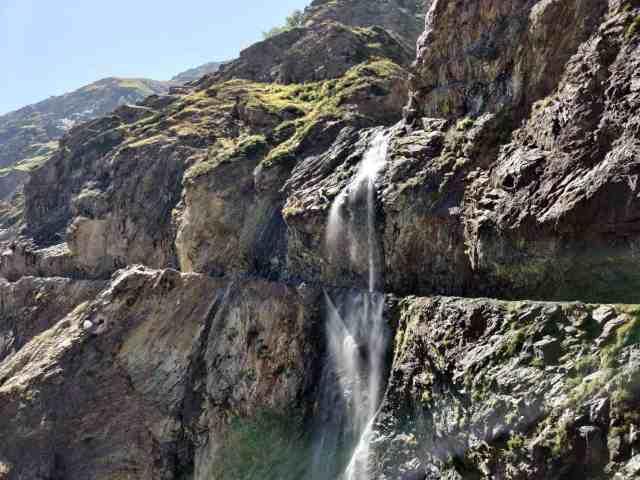 weater falling in kishtwar most dangers road in the word