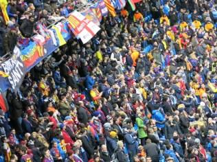 Barca fans