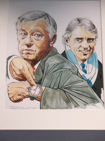 Mancini gets one over on the old master