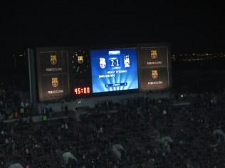 2-1 on the night