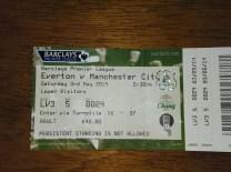 away at Everton