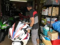 garage at Cols