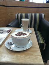 Coffee stop at Watford