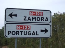 On the way to Portugal