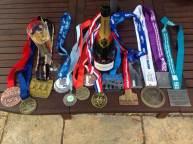 2015 medal haul