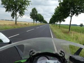 en route in Poland