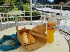 late breakfast/lunch