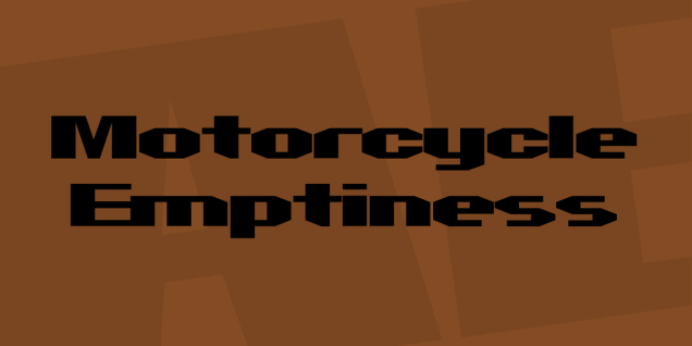 motorcycle-emptiness-font-1-big