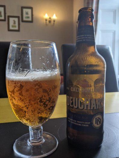 Decent bottle of beer