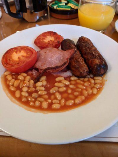 Decent breakfast in Moffat