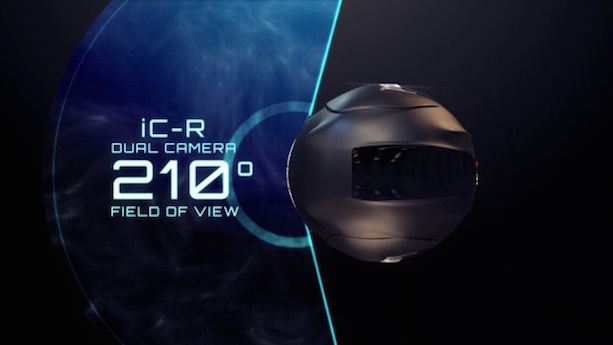 Cranium iC-R motorcycle helmet