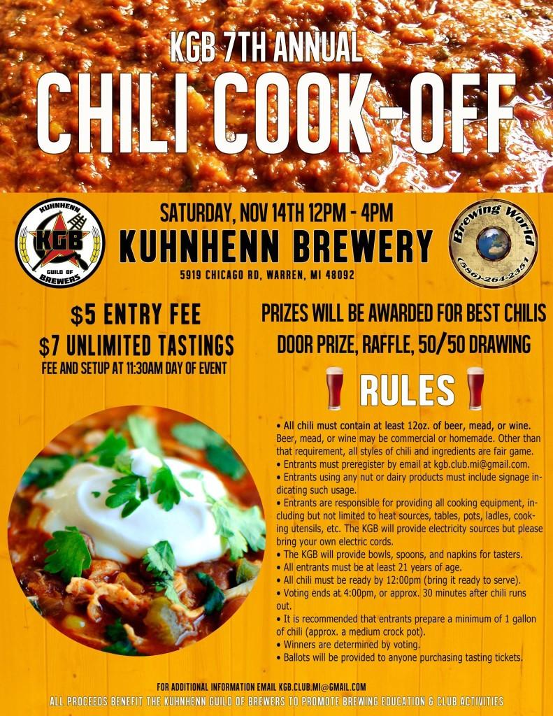 KGB Chili Cook-off 2015