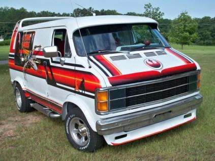 1979 Dodge Ran Star Wars Van Front